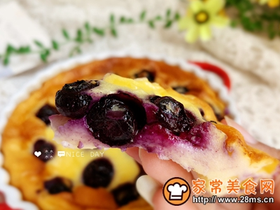 蓝莓爆浆酸奶蛋糕的做法图解10