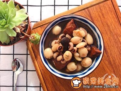 莲子芒果核煲瘦肉小儿化痰消食的做法图解10