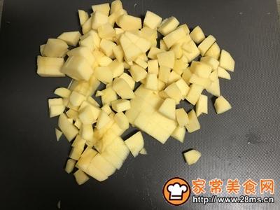 苹果发糕的做法图解1