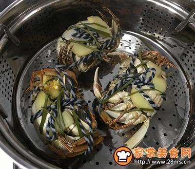 清蒸螃蟹的做法图解5