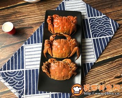 清蒸螃蟹的做法图解7