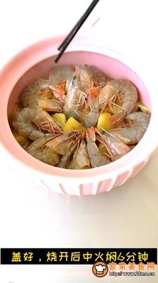 大虾焖土豆