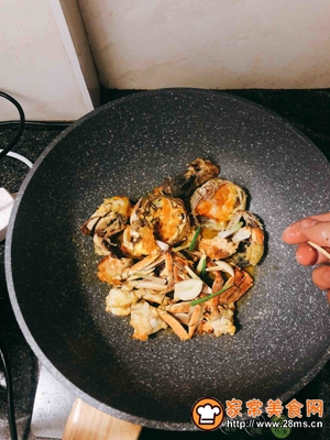 螃蟹炒年糕