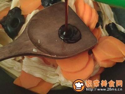 红萝卜炖腐竹