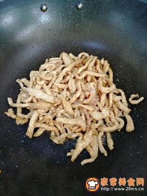 香甜可口的鱼香肉丝