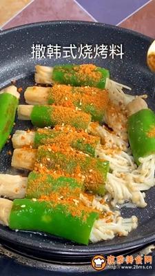烧烤味尖椒金针菇