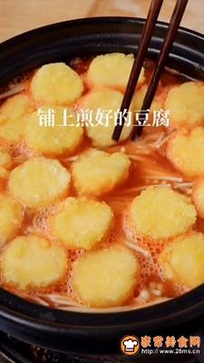 虾仁豆腐煲