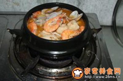 石锅海鲜粉丝