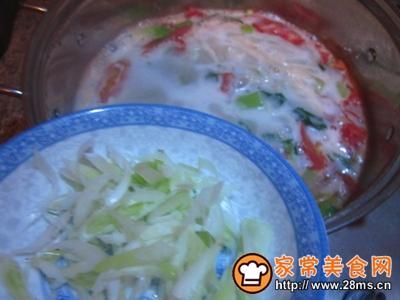 小油菜热汤面