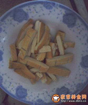 西芹豆干炒辣椒