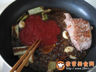 红烧猪排饭