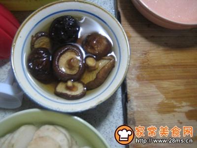 香菇咸肉山药