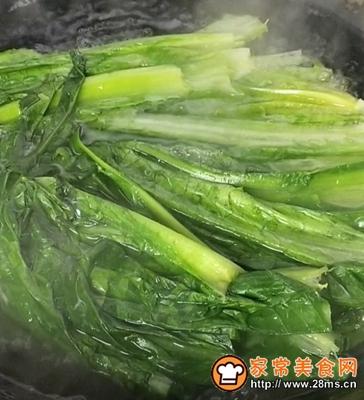 爆炒油麦菜