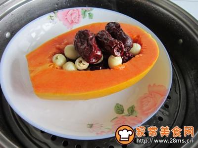 木瓜红枣莲子汤