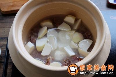 芋头腊肠煲仔饭+白灼菜心