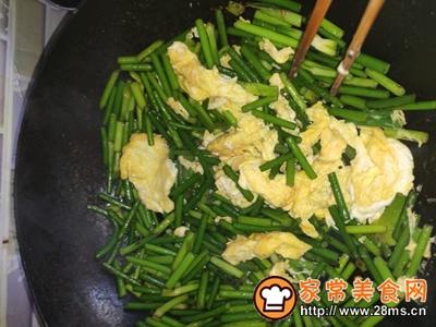 蒜薹炒鸡蛋