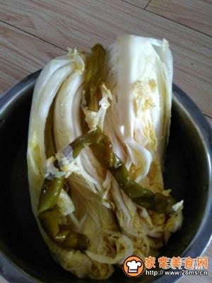 自制酸菜  大白菜