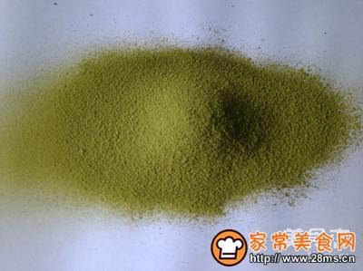 自制绿茶粉