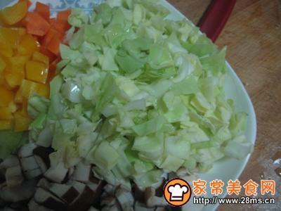 咖喱时蔬炒饭