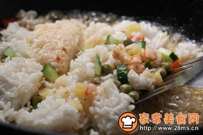 青豆炒米饭