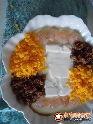 肉末金沙芙蓉豆腐