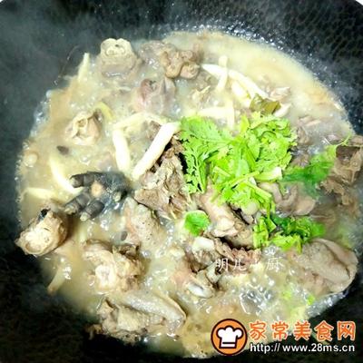 白玉菇炖鸡
