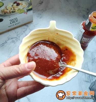 番茄辣酱杏鲍菇