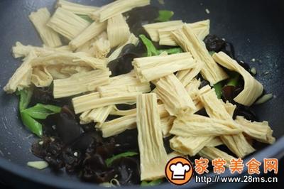 木耳炒腐竹