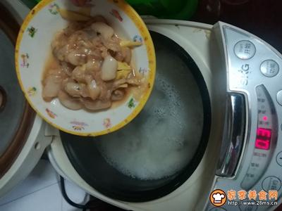 扇贝肉蚝豉粥