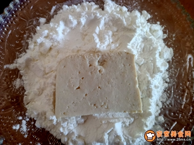 茄汁脆皮豆腐