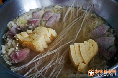 酸菜猪肉炖粉条冻豆腐