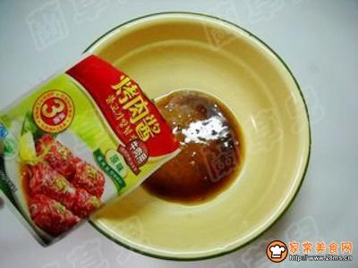 香辣牛肉酱烤肉