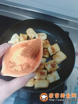 做正宗平底锅版烧烤味年糕的图片步骤6