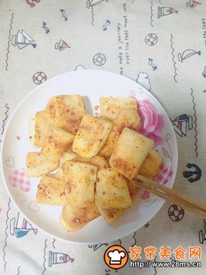 做正宗平底锅版烧烤味年糕的图片步骤7