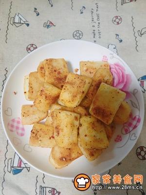 做正宗平底锅版烧烤味年糕的图片步骤8