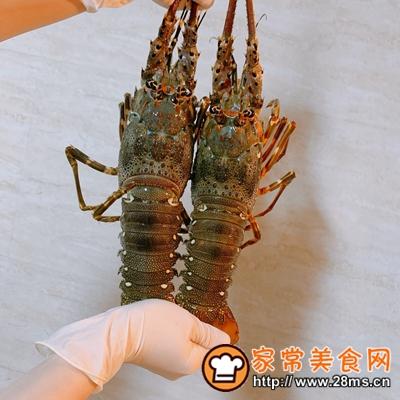 做正宗芝士�h龙虾的图片步骤1