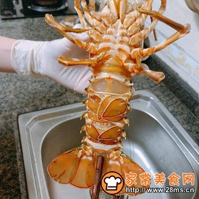 做正宗芝士�h龙虾的图片步骤2