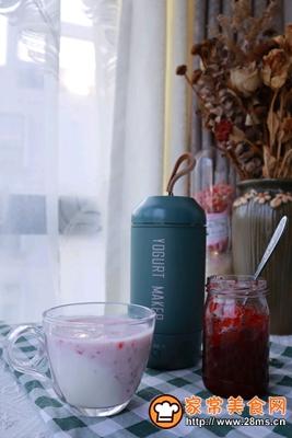 做正宗消食开胃的蔓越莓酸奶果昔的图片步骤15