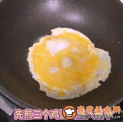 做正宗黄瓜炒鸡蛋的图片步骤2