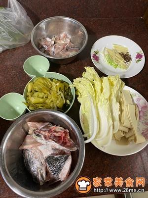做正宗家常版酸菜鱼的图片步骤1