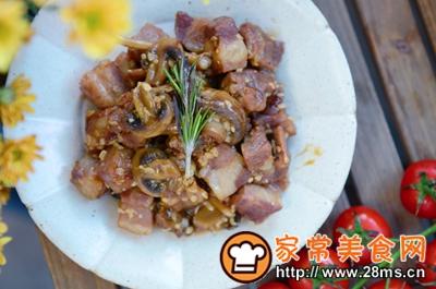 做正宗米酒菌菇炖牛腩的图片步骤19