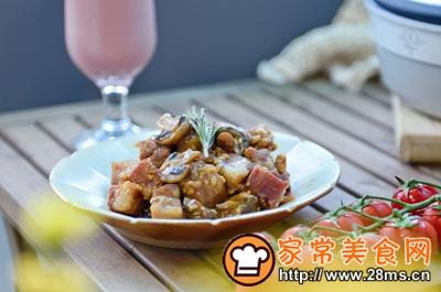 做正宗米酒菌菇炖牛腩的图片步骤22