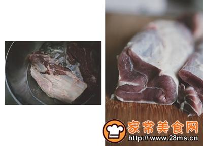 做正宗一份简单的牛肉凉面的图片步骤3