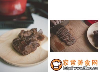 做正宗一份简单的牛肉凉面的图片步骤15
