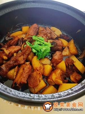 做正宗砂锅版:土豆烧排骨的图片步骤7