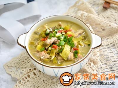 做正宗酸菜煮牛蛙的图片步骤10