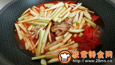 做正宗菇瓜肉酱茄茄汤的图片步骤3