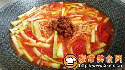 做正宗菇瓜肉酱茄茄汤的图片步骤4