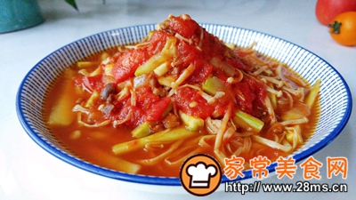 做正宗菇瓜肉酱茄茄汤的图片步骤5