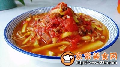 做正宗菇瓜肉酱茄茄汤的图片步骤6